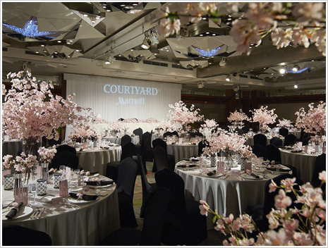 コートヤード・マリオット銀座東武ホテル 宴会場 桜