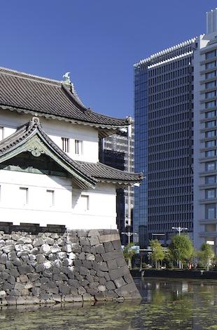 パレスホテル東京 景色