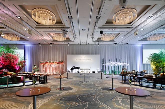 パレスホテル東京 大宴会場 葵