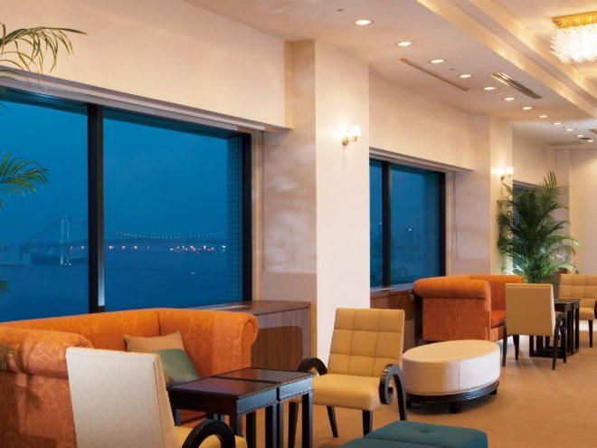 ベイサイドホテルアジュール竹芝 ロビー画像