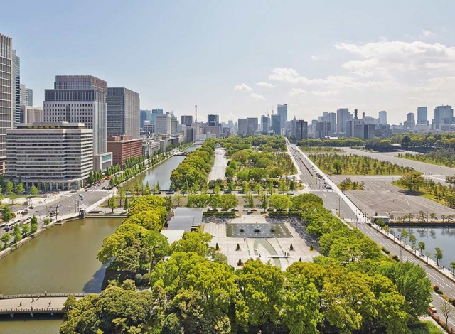 パレスホテル東京 景色 昼
