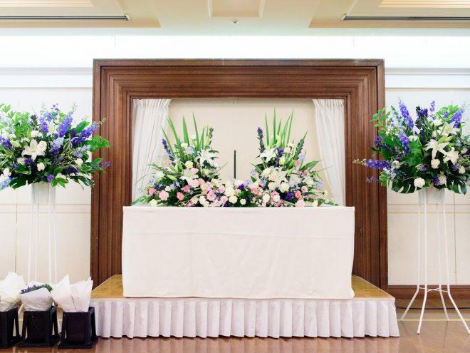 アイビーホール 宴会場 3階 ナルド 祭壇例
