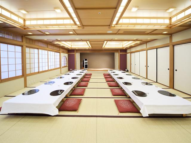 ホテル北野プラザ六甲荘 宴会場 和室