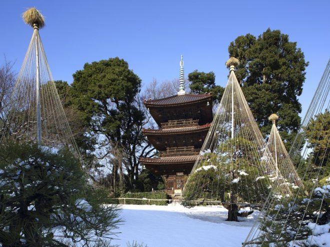 ホテル椿山荘東京 雪の庭園