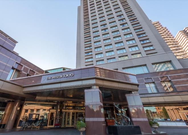 ウェスティンホテル東京 入口