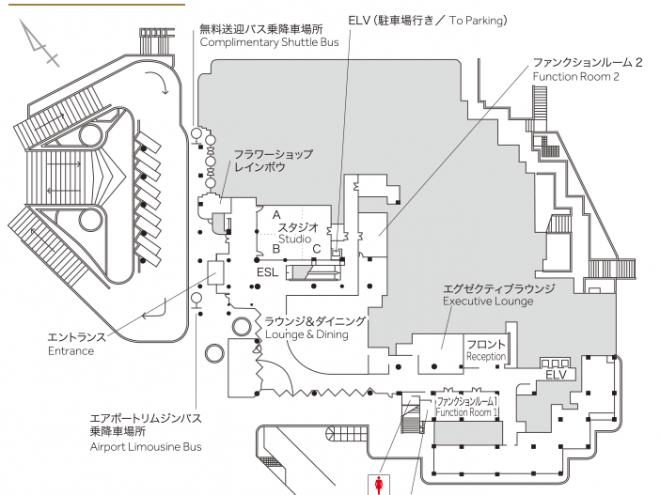東京マリオットホテル フロアガイド