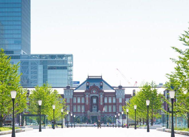 東京ステーションホテル 外観 昼
