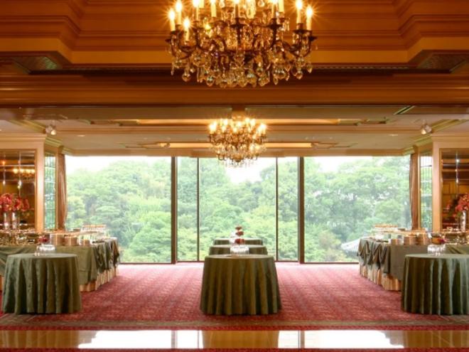 リーガロイヤルホテル東京 宴会場 ガデーンテラス