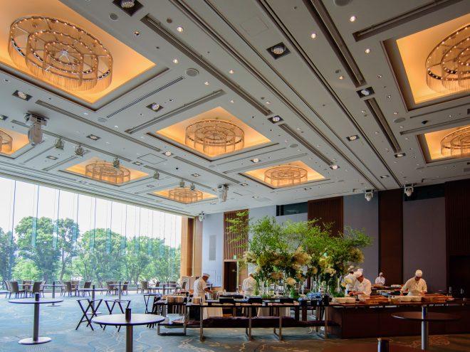 パレスホテル東京 葵の間 立食形式例
