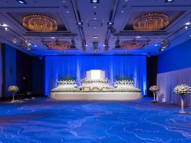 パレスホテル東京 葵の間 祭壇例と会場全体