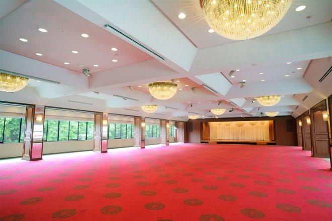 上野精養軒 宴会場