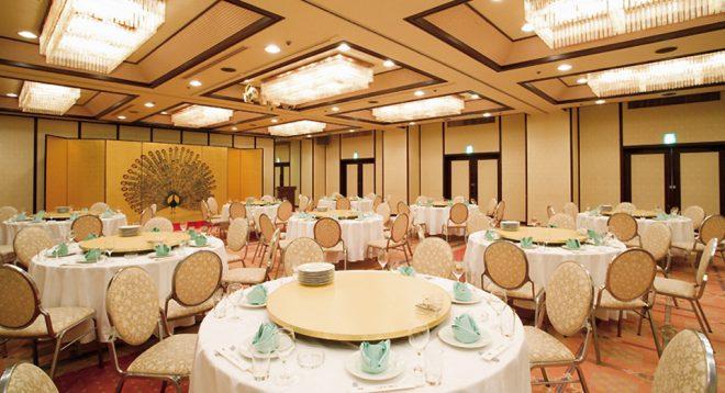 お茶の水ホテルジュラク 宴会場 孔雀