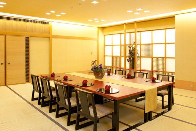 ホテルメルパルク名古屋 宴会場 和室 百合の間