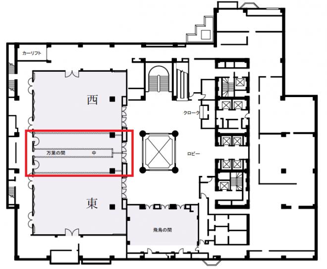 ANAクラウンプラザホテル大阪 宴会場